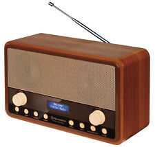 Roadstar HRA-1300DAB+ Retro Design Radio mit FM und Digital Radio