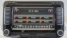 """GENUINE VW RNS 510 LED SSD VERSION """"R"""" SAT NAV DVD MP3 1T0035680R / 40GB"""