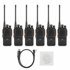 6x Baofeng GT-1 +Win10 USB Cable Two-way Ham Radio   BF-888s *ONLY FIVE*
