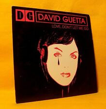 Cardsleeve single CD David Guetta Love, Don't Let Me Go 2TR 2002 House Dance
