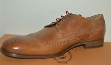 NIB TOD'S MENS LEATHER LACE UP OXFORD SHOES SZ US 10 EU 43 MADE IN ITALY