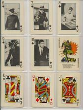 Green Hornet Vintage Playing Cards 45 Loose w/ Wax Paper Greenway Prod 1966