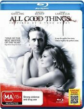 All Good Things [ BluRay ], LIKE NEW, Fast Next Day Post...6234