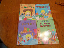 "HONEY BEAR BOOKS (LOT OF FOUR) ""I CAN DO IT MYSELF LOT"" AGES 4-7"