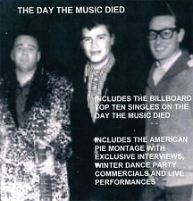The Day The Music Died CD Buddy Holly, Ritchie Valens, Big Bopper