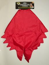NEW Devil Dog Cape Costume w/ attached Devil Tail Halloween All Hallows Eve  S