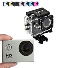 TELECAMERA SPORT HD 1080P KIT ACCESSORI ACTION CAMERA 1.3 MP WATERPROOF GO PRO