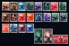 """ITALIA REP. - 1945-48 - Serie """"Democratica"""" - Serie Completa - 23 valori - MNH"""