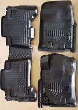 SALE HUSKY LINERS FLOOR MAT FRONT & 2nd ROW 3 Pc Set for 13-15 Toyota 4Runner