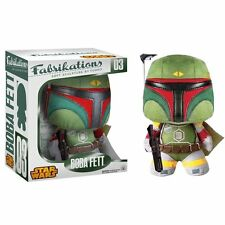 Star Wars Boba Fett Fabrikations #03 Soft Sculpture Plush Peluche FUNKO