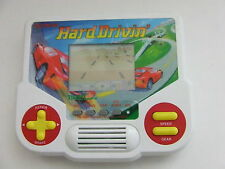 Hard Drivin' 1988 Tiger Electronics Handheld LCD Video Game Tested Working RARE