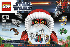 LEGO STAR WARS_2012 Advent Calendar_234 Pieces + 2 Exclusive Holiday figures_MIB