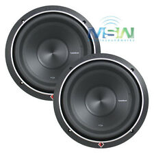 """(2) ROCKFORD FOSGATE P2D4-12 12"""" PUNCH P2 DUAL 4-OHM SUB WOOFERS 800W RMS *PAIR*"""