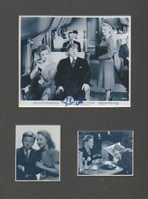MICKEY ROONEY Signed 11x9 Photo Display ANDY HARDY'S BLONDE TROUBLE COA