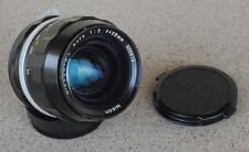 Nikon Nikkor N C 28mm F2 manual focus lens - great paint