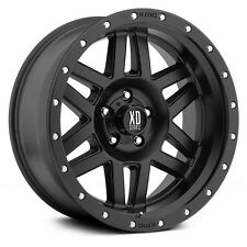 18 Inch Black Wheels Rims Ford Truck F 250 F 350 8x6.5 Lug XD Series XD128 NEW