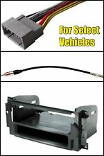 Single Din Dash Kit for Radio Stereo Install Harness Antenna Chrysler Dodge Jeep