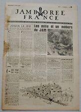 Jamborée France 6 - 21 Aout 1947 ; Journal N° 12 du 17 Août  Scouts P JOUBERT