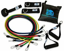Cayman Fitness Resistance Exercise Band Set - 11 Pieces