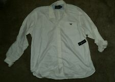 RALPH LAUREN  AMERICAN LIVING MEN'S  IVORY WHITE SHIRT L/S COTTON XXL