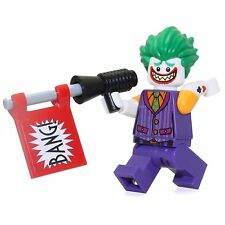 LEGO The Batman Movie The Joker MINIFIG from Lego set #70906 Brand New