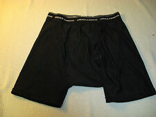 Under Armour Men's Black Athletic Fitness Running Base Layer Boxer Shorts - S