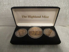 Mark Mcgwire St Louis Cardinals Monumental Highland Mint Bronze 3 Coin Set