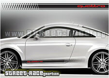 Audi 006 racing stripes graphics stickers decals TT quattro