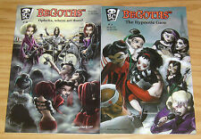 BeGoths #1-2 VF/NM complete series based on the toys/figures be goths set