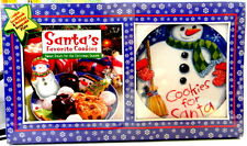 Cookies for Santa Snowman Plate and Cookie Recipe Book