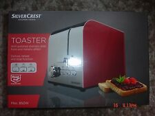 Silvercrest Kitchen Tools TOASTER RED