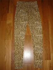 NWT $49 KARDASHIAN KOLLECTION Animal LEOPARD PRINT Legging Pants Womens XS