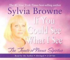 If You Could See What I See: The Tenets of Novus Spiritus - Sylvia Browne/2 CDs