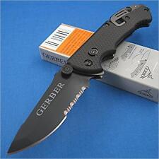 Couteau Gerber Hinderer CLS (Combat Life Saver) Acier 440 Glass Breaker G1870
