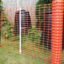 Orange Plastic Barrier Mesh - Dog, Pet, Chicken, Event, Fencing - 7kg - 1m x 50m