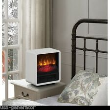 Personal Electric Space Heater WHITE Portable Mini Infrared Stove Fireplace NEW