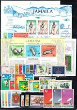 Jamaica Mint NH sets and S/S (Catalog Value $49.05) [R_1470]