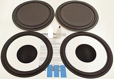 "ESS AMT-1A Speaker Repair Refoam Kit 12"" Passive Radiator & 12"" Woofer w/ Caps!"
