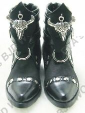 1/4 BJD Boots Shoes Supper dollfie MSD  Black new #2-1