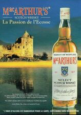 Publicité advertising 1994 Scotch Whisky Mac Arthur's