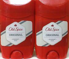 2x Old Spice Original Desodorante En Barra 50ml