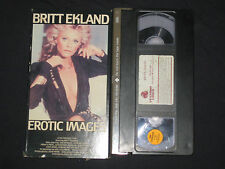 EROTIC IMAGES  Britt Ekland VHS MOVIE RARE not on dvd