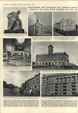 1952 Photographs In Ussr And Moscow Behind Iron Curtain