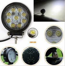 4 Inch 27W LED Work Light Bar Offroad Boat Car Tractor Truck SUV ATV Flood 12V