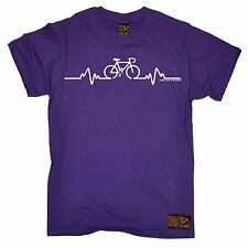 Bike Pulse T-SHIRT Tee Cycling Bicycle Riding Medic Doctor Funny Gift birthday
