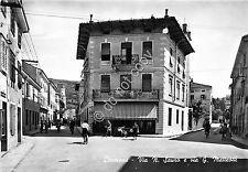 Cartolina - Postcard - Cormons - Via Sauro - Via Matteotti  - Animata - 1956