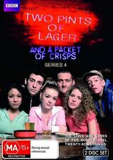 Two Pints Of Lager And A Packet Of Crisps : Series 4 BRAND NEW 2DVD SET!