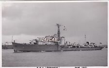 "ORIGINAL Photograph Royal Navy. HMS ""Obdurate"" O-class destroyer.  1947"