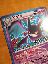 NM Prerelease STAFF Pokemon CROBAT Card Black Star Promo BW51 Plasma Storm TCG