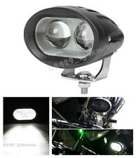 1x 20W 4D LED Spot Waterproof Motorcycle Fog Driving Work White Light For Yamaha